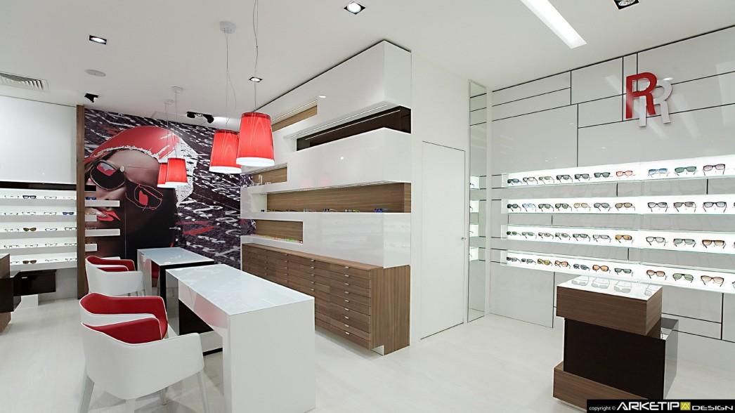 Arredamento negozi ottica milano arredo personalizzato for Negozi arredamento design roma